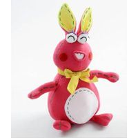 Funny rabbit plush toy thumbnail image