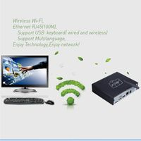 Internet Mini Tablet PC TV box With Win8.1 System Mini PC-Z3735F
