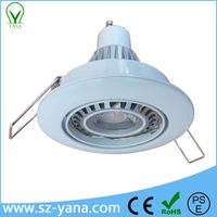 MR16 GU10 E27 E26 GU5.3 3w 4w 5w 7w cob ceiling spotlight