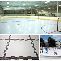 Roller Ice RinkUHMWPE/HDPE synthetic ice rink manufacturers/roller skating flooring