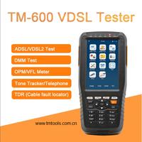 TM-600 VDSL Tester with ADSL/ADSL2/VDSL2/OPM/ VFL/TDR thumbnail image