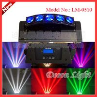 5pcs 10W cree led RGBW 4IN1 or white beam spider sh moving head light LM-0510 thumbnail image