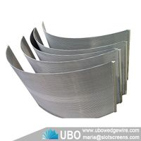 SS wedge wire sieve bend screen thumbnail image