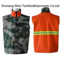 Flame Retardant Vest Double-Sided/fire fighting safety clothes