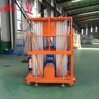 Window cleaning lift hydraulic man lift table price