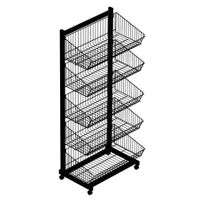 basket display stand/ shelf/rack