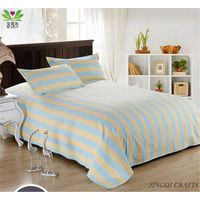 New Fashion Breathable Massage Cotton Bed Sheet Environmental Ventilate Bedding Set Full Size  zz101