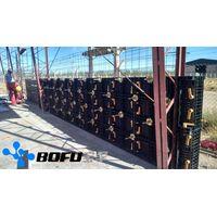 BOFU plastic formwork panel for concrete construcion