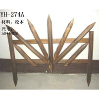 Wood Garden fence/Decorative fencing/garden border fence/fecing decoration