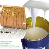 High Tensile Strength High Duplication Times RTV2 Silicone Rubber To Make Cement Gypsum Stone Mold