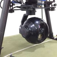 Eagle Eye-IV X18 Eo/IR Sensor Infrared Zoom Camera 3-Axis High Stabilized Gimbal System for RC Drone