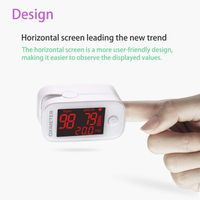Hot Sale Medical Product Pulse and Oximeter LED Spo2 Ce White Big Screen ABS Electricity thumbnail image