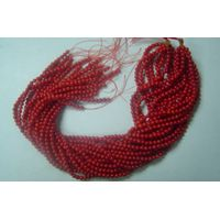 Bamboo Coral , Round Beads, 4mm thumbnail image