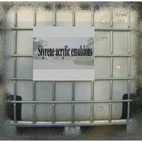 Styrene acrylic emulsions