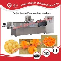 corn puffed snacks food extruder making machine thumbnail image