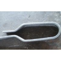 Pipe clamp for boiler pipe