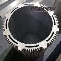 Large Anodised Extruded Aluminium For Radiator