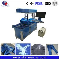 CO2 Laser Marking Machine Price for Cloth thumbnail image