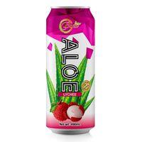 maximum strength pure natural aloe vera juice with lychee (BENA beverage company)