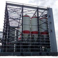 Huge Industry Heavy Latticed Column Energy Workshop