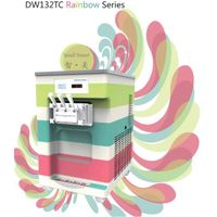 [Remote Control]DW132TC Colorful Table Top Soft Ice Cream Machine Frozen Yogurt Macine.No1 in China.