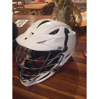 White Cascade R Lacrosse Helmet