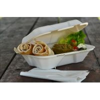 963 disposable takeaway fast food bulk pack paper clamshell