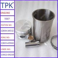 Nissan TD27,FE6,FE6T,PE6,RE8,RF8 Engine Parts, Liner kit, Piston, Ring Set, Cylinder Liner, Engine B