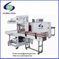 Automatic sleeve sealing and shrink machine