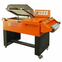 2 in 1 Shrink Wrapping Machine for Bottles Foods