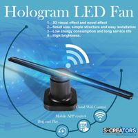 3D Hologram Advertising Fan 43cm HD APP/WiFi 3D LED Fan Display thumbnail image