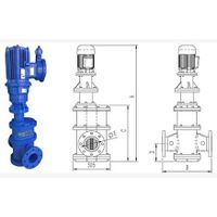 Pineline water grinder