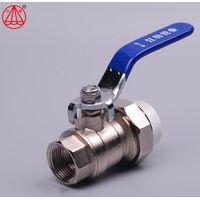 Jiangte Single Adaptor Female Ball valve