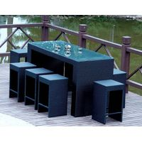 resin rattan bar furniture,aluminium bar chairs