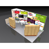 Exhibition display exhibition stands 1020 exhibition standard booth thumbnail image