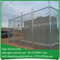 12 gauge galvanized pvc coated colored chain link fence