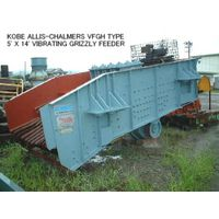 USED KOBE ALLIS-CHALMERS VFGH TYPE 5 ft X 14 ft VIBRATING GRIZZLY FEEDER thumbnail image