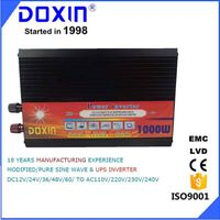 doxin 1000w solar power inverter  home use dc12 v ac 220v