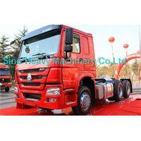 TRACTOR HEAD, Tractor truck SINOTRUK HOWO 6X4 371HP 371 hp  Euro II Load 20-60 ton