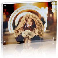 Plexiglass magnet transparent acrylic picture frame 810 68 inch