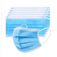 Offering the Medical face mask Disposable Mouth Mask Anti Virus face mask 3Ply Anti Flu Face Mask thumbnail image