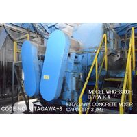 CODE No. KITAGAWA-8-3.3M3 OF CONCRETE MIXER MODEL WHQ-3300H (ZCROSS TYPE)S/No. 16Q018 thumbnail image