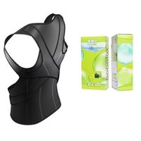 Adjustable vest to correct posture with back brace lumbar support thumbnail image