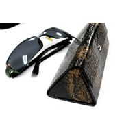 (Hx386) Leather Eyeglasses Case for Sunglass