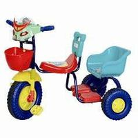 Plastic children tricycle
