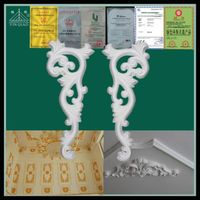 Wholesale decorating material gypsum beadings