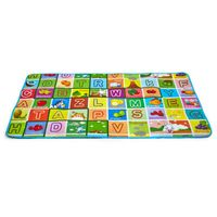 Soft Plastic Baby Crawling Mats Waterproof Fruits Letters Children Rug Puzzle Mats Safety Baby Devel