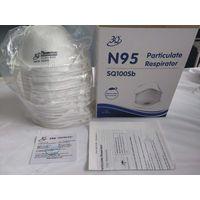 3Q N95 / SQ NIOSH N95 Particulate Respirator Face Mask SQ100SB