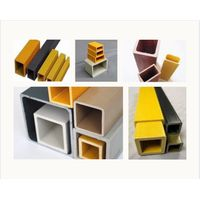 High Strength Fiberglass Frp Pultrusion Rectangular Tube