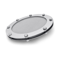 sintered stainless steel gas diffusion disc for wastewater treatment ozone aeration thumbnail image